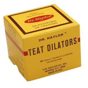 DR NAYLOR TEAT DILATORS 40'S