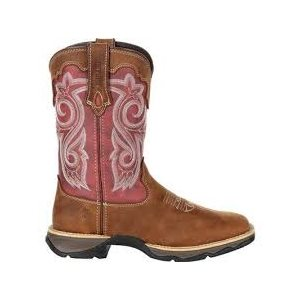 BOOTS WOMANS DURANGO BRIAR BROWN / RUSTY RED